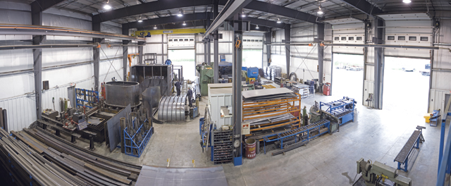 Northern Metalwork's 929 sq m (10,000 sq ft) shop offers a broad range of machining options to meet a diverse range of customer needs.