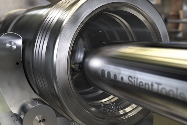 Invented in a nail factory, anti-vibration bars have advanced greatly over the past five decades.  Image: Sandvik Coromant