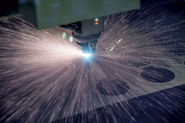 Ultra fast fiber lasers means fabricators need to consider downstream processes to avoid production bottlenecks. IMAGE: TRUMPF