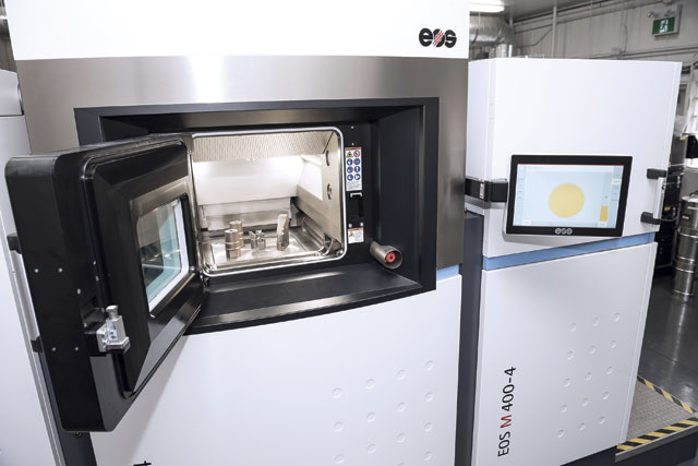 Additive manufacturing is now an integral part of Exco's offering. The process has produced parts with three times the life of conventionally machined ones. The EOS machine was purchased from distributor Machine Tool Systems.
