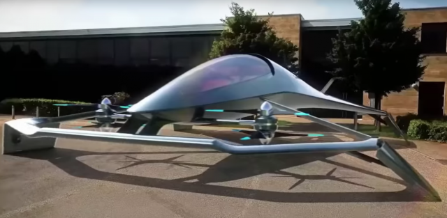 Futuristic designs for personal transportation by air