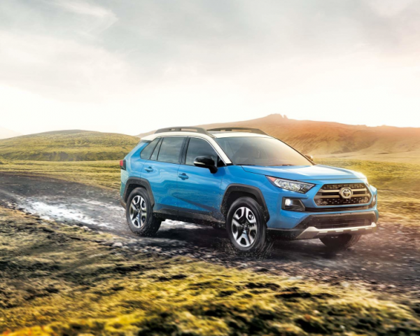 Toyota Canada RAV4 Hybrid sales were up 95.5 per cent in October. Photo: Toyota Canada