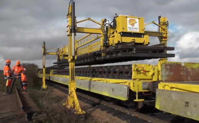 Track laying technology