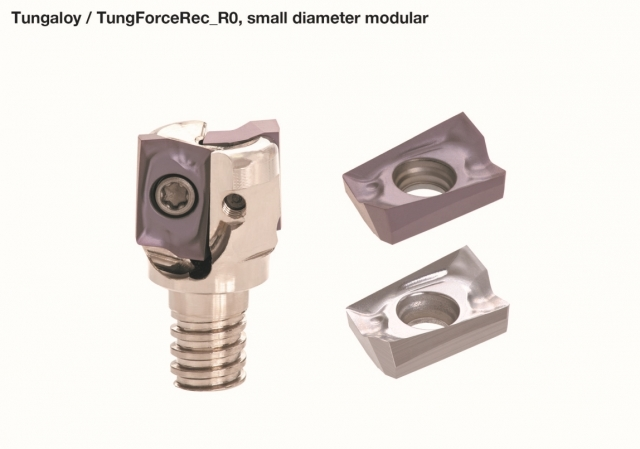 TungForceRec shoulder milling cutter system