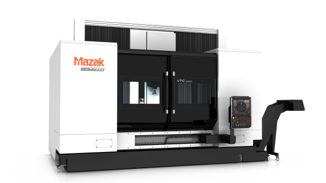Mazak's VTC-200C VMC with Slide Controls