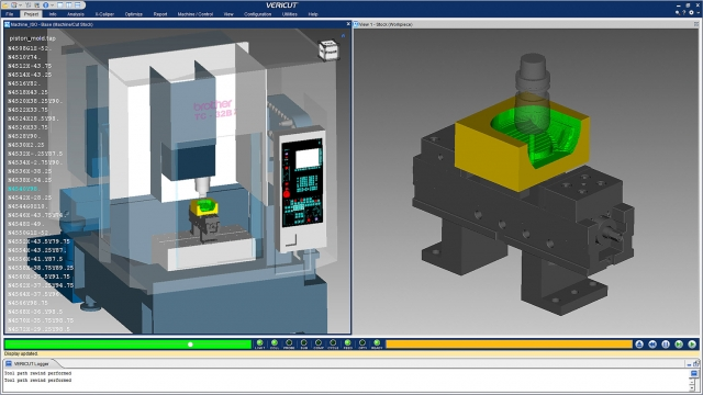 VeriCut CNC simulation and optimization is CGtech's claim to fame