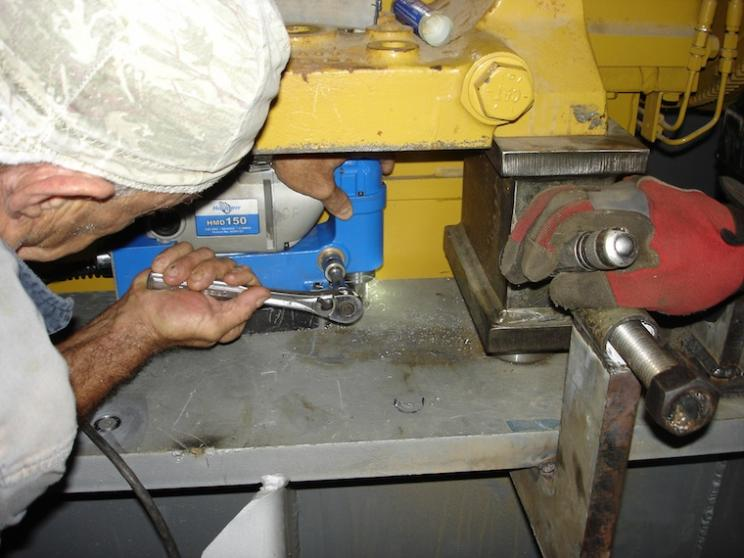 Better hole drilling for shipbuilding   Fabricating   Fabricating