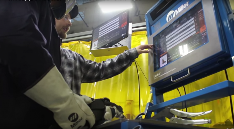 ALMCO improves welder training with Miller's Live Arc welding performance management system.