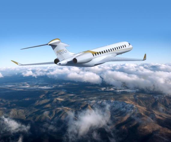 Bombardier Global 7000 business jet