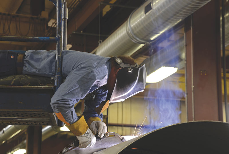 Capturing fumes close to the source will minimize your airflow and energy requirements.