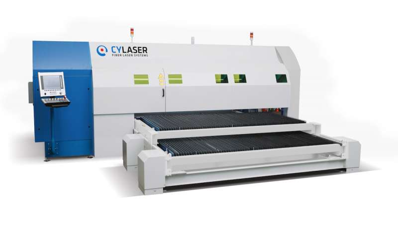 Cy Laser's new side-loaded laser cutting system