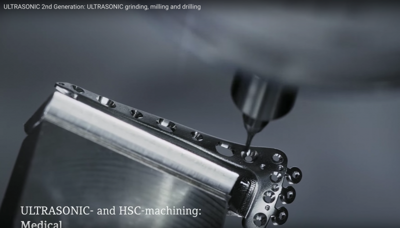 DMG MOIR Ultrasonic technology for grinding, milling and drilling of complex parts