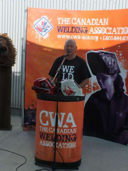 Dan Tadic, executive director of the Canadian Welding Association