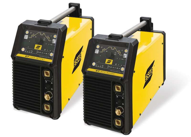 ESAB's ET220i and 301iACDC TIG/stick welding systems