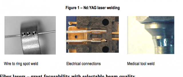Nd:YAG laser welding