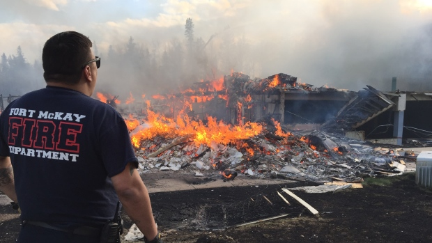 Fort McMurray fire. Image: CBC News