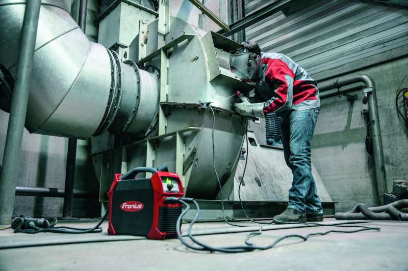 Fronius's new generation of the TransPocket Stick (SMAW) welding machine