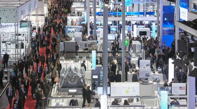 Hannover Messe Industrial Automation Show 2016 file photo