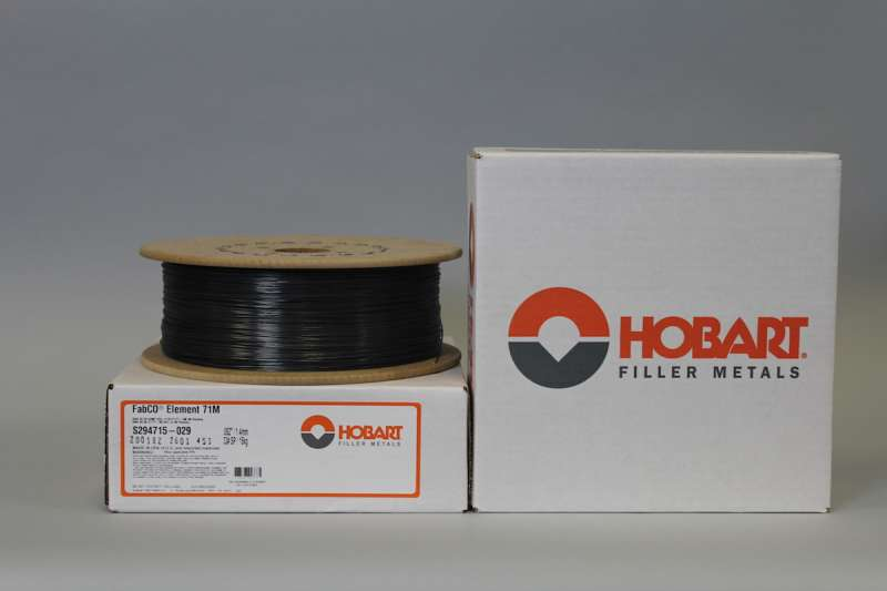 One of Hobart's new additions to its family of low manganese wires: Element 71M