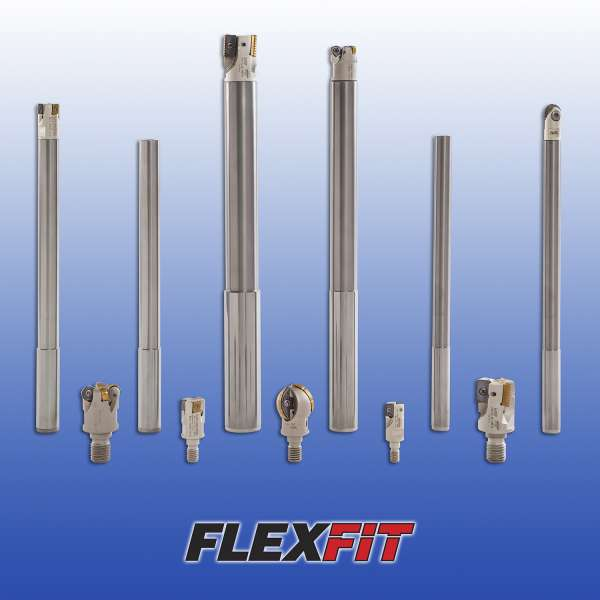 Iscar Carbide Shanks FLEXFIT Connections