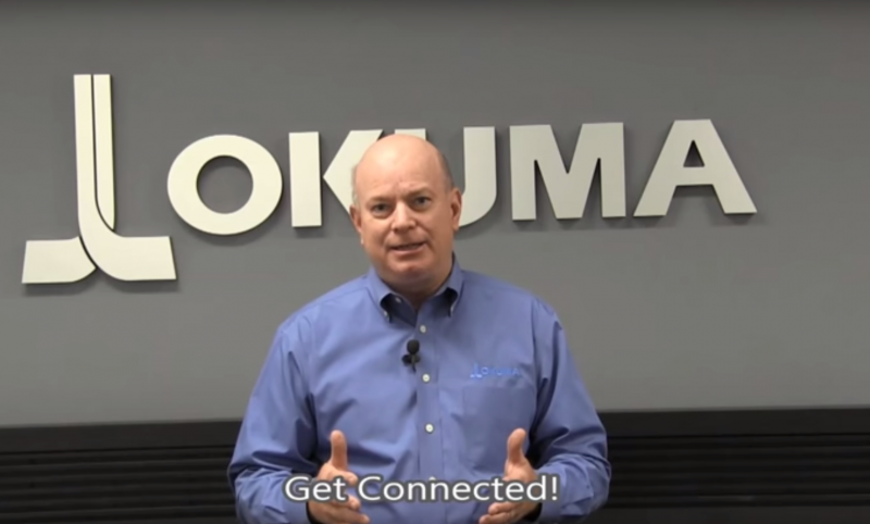 Jeff Estes of Okuma's Partners in THINC discusses the Industrial Internet of Things
