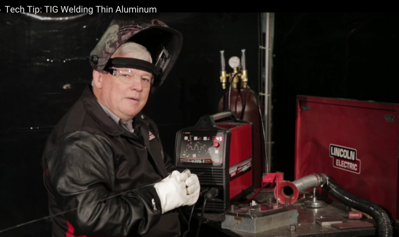 Lincoln Electric: Welding thin aluminum
