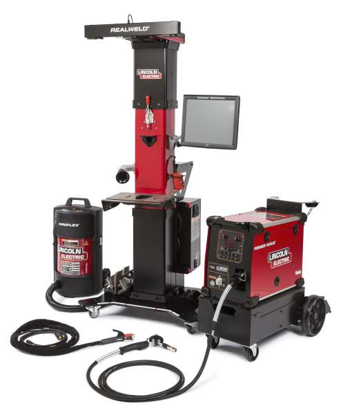 Lincoln Electric's RealWeld Advanced Training system