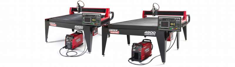 Lincoln TM4400 TM4800 plasma cutting tables