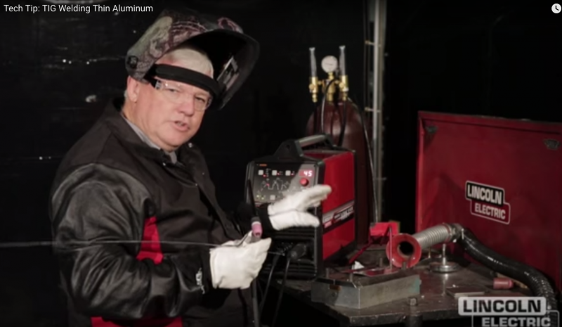 Lincoln Electric Tech Tip: welding thin aluminum