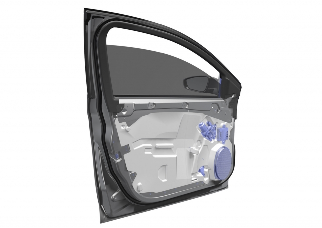 Magna has developed a new ultralight door module that achieves 42.5 mass savings and can be used on approximately 70 per cent of the current light vehicle market