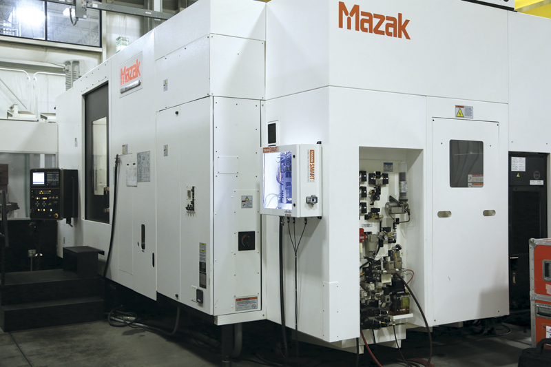 The SmartBox is the newest addition to Mazak's iSmart factory concept.