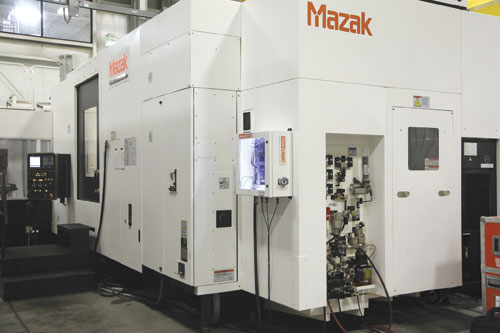 Mazak has taken the machine control concept a step further with its SmartBox security platform that protects Internet-capable CNCs from unauthorized access, while collecting machine data and other forms of information for further analysis, and does it for all brands of smart controls.