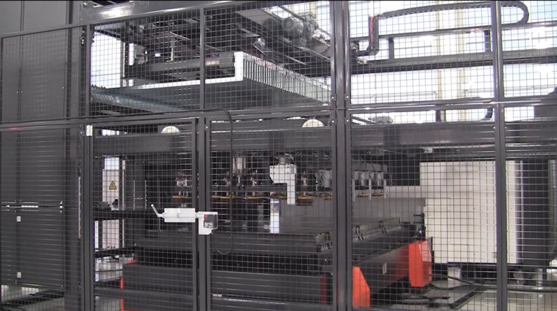Mazak Optonics vertical automation system
