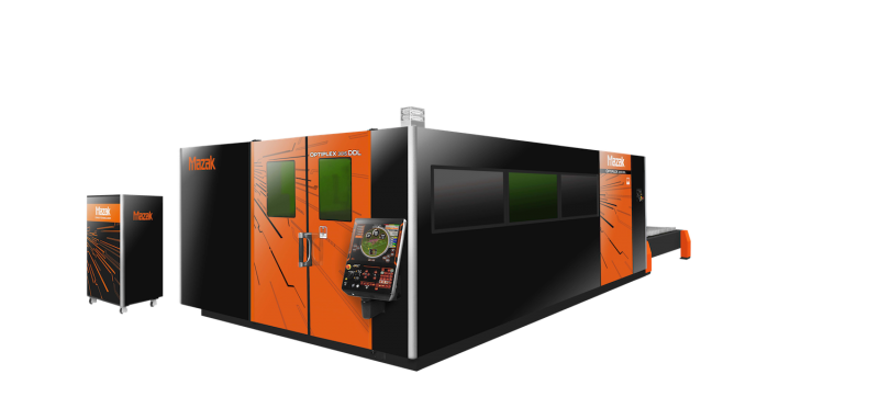 Mazak Optonic's next generation in fiber technology the OptiPlex 2015 DDL (Direct Diode Laser)