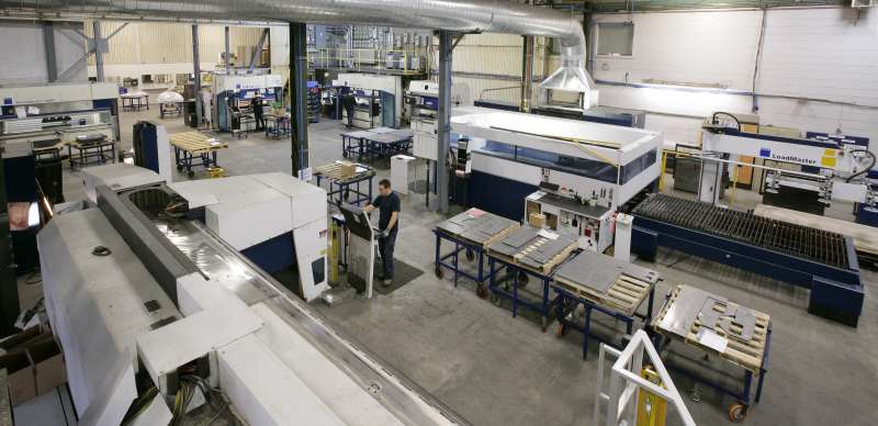 Mundial Group's Metal Bernard fabricating facility in Quebec