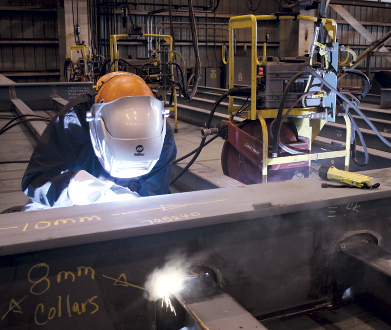 CWB's Craig Martin says the welding certification program is simple in its approach and the effectiveness of having it for a business is being proven in the marketplace. Image: Miller Electric Mfg. Co.
