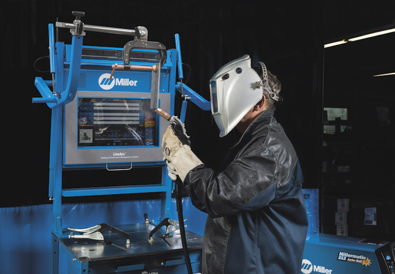 Miller's LiveArc reality-based training for welding.