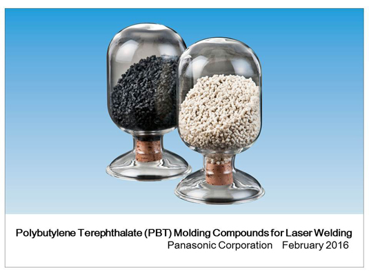 Panasonic commercializes PBT moulding compounds for laser welding