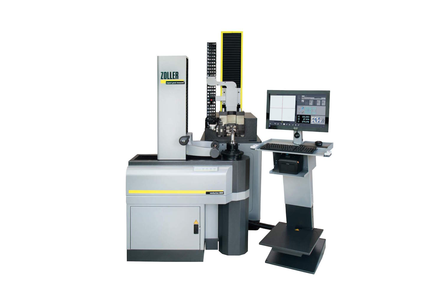 Rego-Fix and Zoller developed the automated tool presetting and measuring system, Venturion 600
