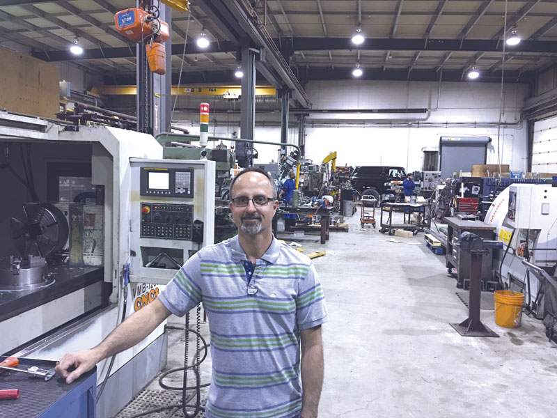 Robert Stegmeier believes in investing in diverse manufacturing  technologies to meet a wide range of customer needs.