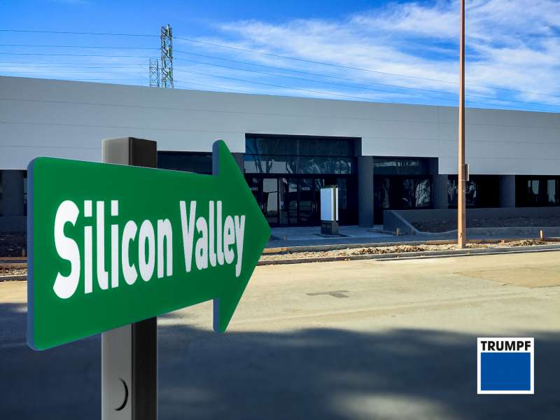 TRUMPF opens tech site in Silicon Valley