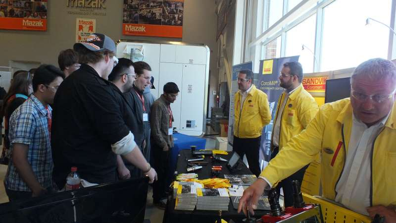Technology Day held at Mazak's facility in Cambridge, ON