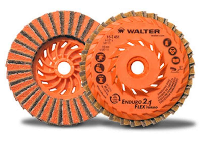 Walter Surface Technologies Enduro-Flex 2-in-1 flap discs