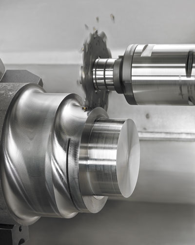 Slotting is one of the more difficult machining operations, especially with the tough materials increasingly used in automotive.  Image: Walter Tools