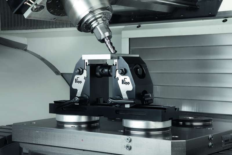 5 axis clamping system