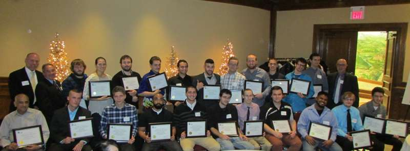 Youth graduates from the Canadian Tooling & Machining Association's 32-week Introductory Trades Training program