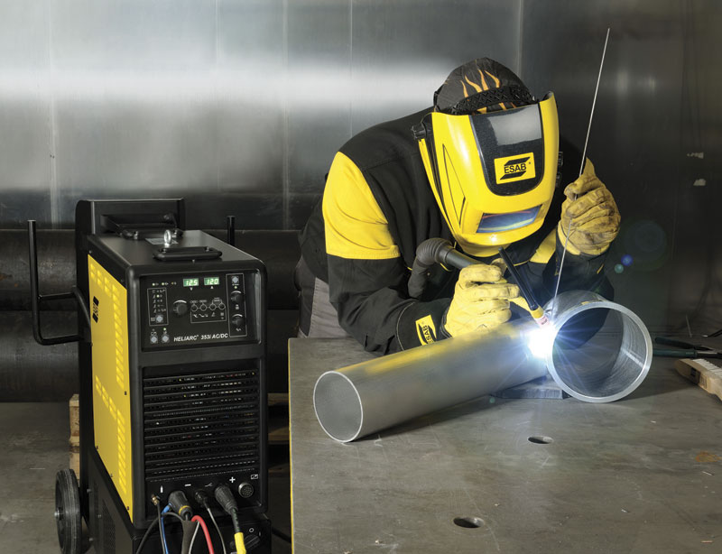 TIG welding equipment has become more efficient and more flexible for welders.