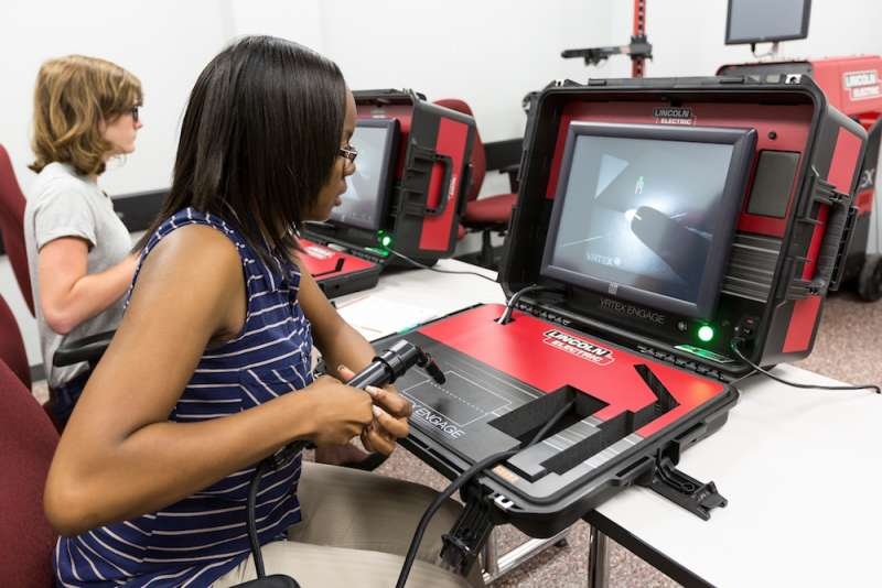 Lincoln Electric's new generation virtual reality welding training system