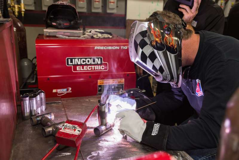 Lincoln Electric holds welding event for metal fabricators in the motorsports industry