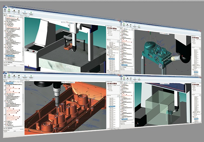 Mitutoyo MiCAT Planner software for CNC CMM users